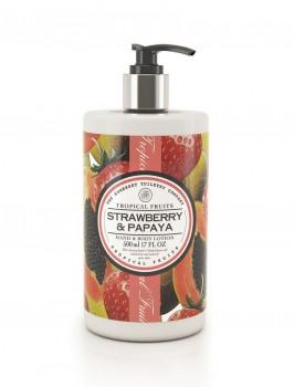 Tropical Fruits - Hand & Body Lotion - Erdbeere & Papaya