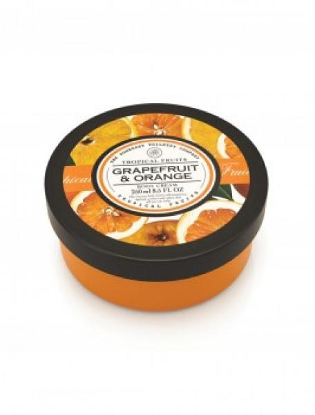 Tropical Fruits - Körpercreme - Grapefruit & Orange