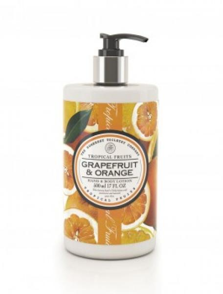 Tropical Fruits - Hand & Body Lotion - Grapefruit & Orange